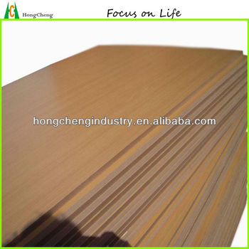beech color melamine coated mdf board price