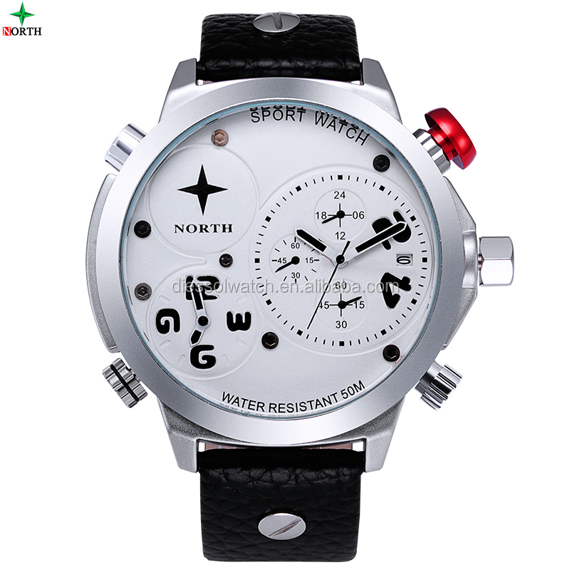 Personality Fashion own Design Quartz Waterproof Wristwatch Watches Mens Watch