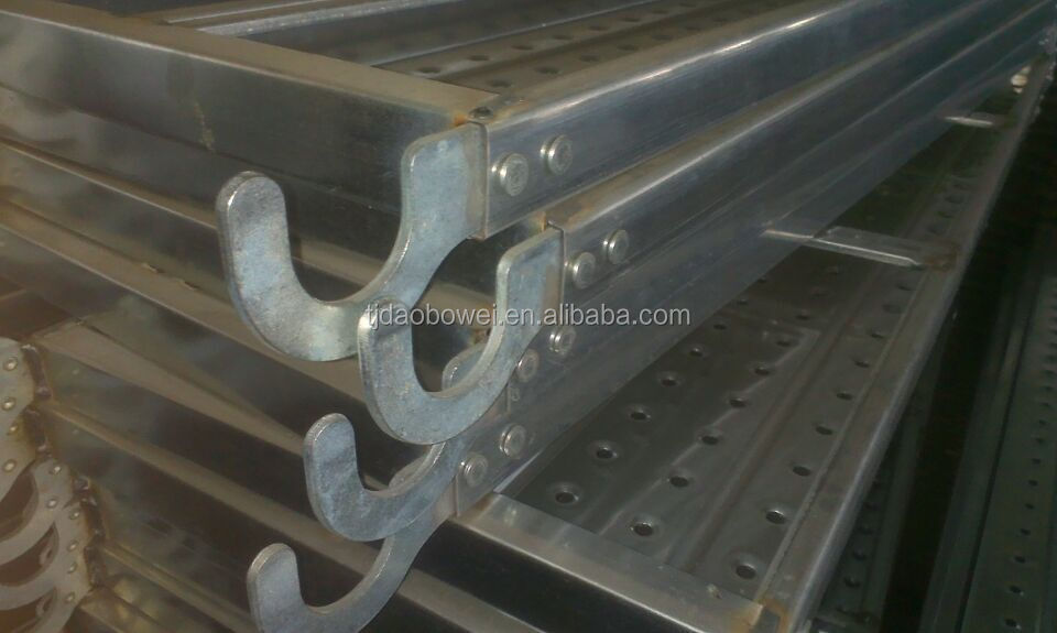 scaffolding galvnaized deck metal planks for formwork frames system