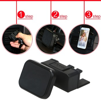 CD Slot Smartphone Phone GPS Holder Magnetic Mount for Car