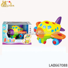 ASSEMBLE LIGHT SOUND PLANE WITH CONFIGURED INFANT PLANE