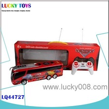 4CH rc bus with light and music remote controlled buses toys gift for children wholesale