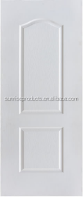 3mm White primier HDF moulded door skin with oak design