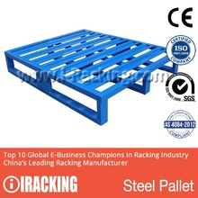 New Style Warehouse storage stacking heavy duty steel pallet epal used