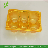 Chocolate food use and industrial use heart shaped chocolate plastic box