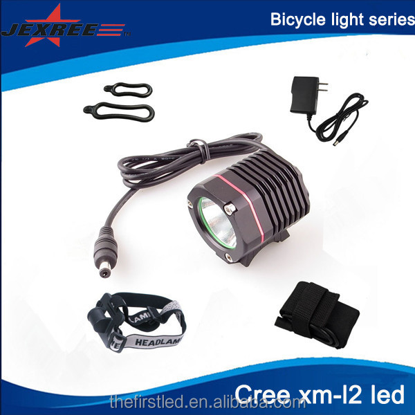 Jexree OEM 1000lumen Aluminum Cree T6 LED bicycle light <strong>l2</strong>