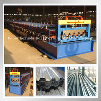 Most Popular Metal Floor Deck Sheet Roll Forming Machine For Hot Sale