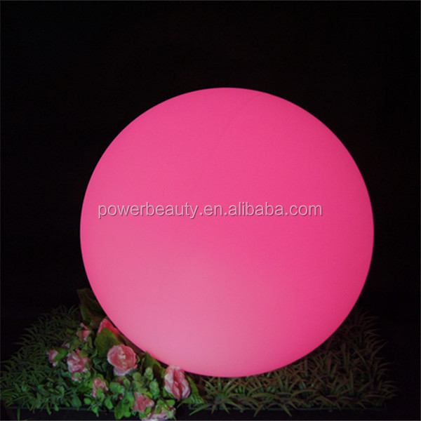 new waterproof IP68 led remote controlled light ball globe for pool garden party decoration