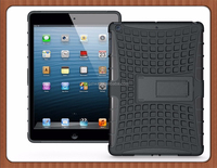 Universal TPU hard PC kickstand tablet case for iPad 5/Air