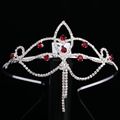 Factory directly new design bridal peagent wedding tiara lovely crown