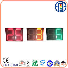 800*600mm 2 Digits Red Yellow Green LED Traffic Countdown Timer