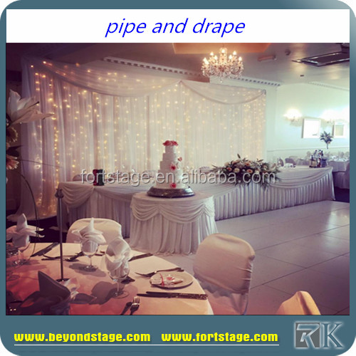 China Wholesale Adjustable Backdrop Pipe And Drape/mandap sale india