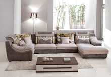 2015 The New Corner sectional sofa U-type fabric sofa and Chaise