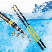 Mixed Carbon 2.1-3.6m Mamba Long Shot Sea Fishing Rot Super Solid Flexible Fly Fishing Pole