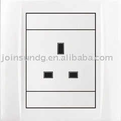 3-feet square electrical socket outlet S6C3F1