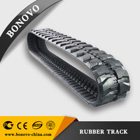 snow blower rubber track ,rubber pad ,rubber crawler made from natural rubber for Excavator