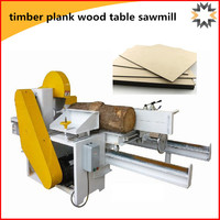NEWEEK industry handy electric woodworking timber plank wood table sawmill