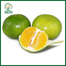 Name all green citrus fruits mandarin