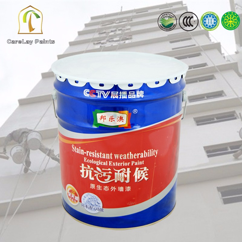 Stain&Dirt Resistance Water Based Exterior House Paint
