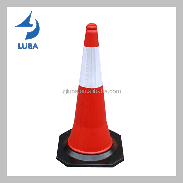 75cm Mideast Standard Road Safety PE Traffic Cone
