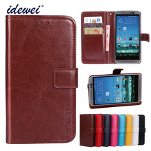 Luxury Flip PU Leather Wallet Mobile phone Cover Case For HTC One M9 with Card Holder