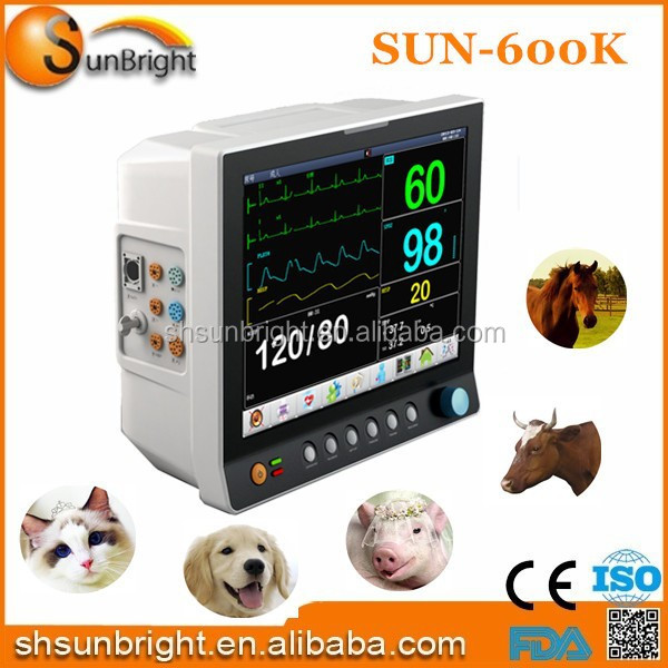 Veterinary Patient Monitor/sunbright Portable Multi Parameter Vet Patient monitor
