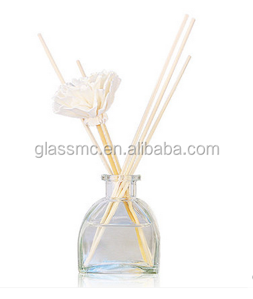 high quality spa room 60ml,100ml aroma diffuser glass bottle