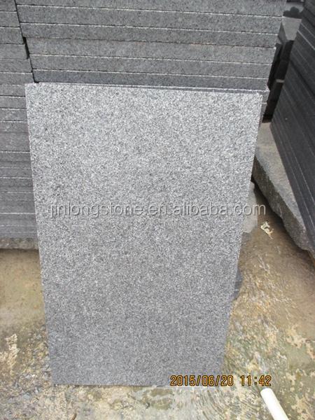 Bajo precio china g654 granito gris oscuro granito for Precio metro granito
