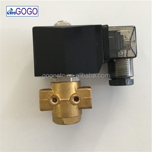 3 2 way 3 port water pneumatic solenoid valve