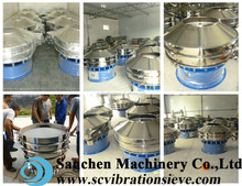 304 stainless steel 0.5-2t/h dry marble rotary sieving machine