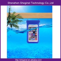 China supplier outdoor sports pvc waterproof bag for phone