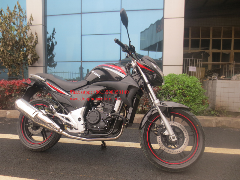 Chongqing Dongben hot sell new motorcycle 200CC 250CC 300CC on-road motorbike