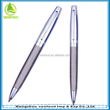 Deluxe twist action stainless steel braid pen as promotional gift items