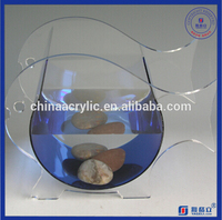 Chinese maker acrylic glass small commercial fish tank acrylic aquarium fish tank