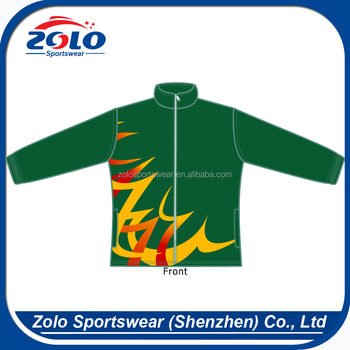 High quality fully Zipper Custom sublimation european jackets for man