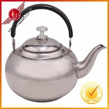 High Quality Round Shape Antique Stainless Steel Water Pot With Strainer