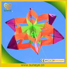 41 inch Colorful 3D Lotus Flower Kite Single Line Box Kite Outdoor sports Toy for kids stereo kite with flying line