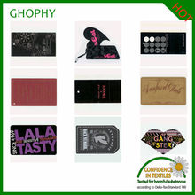 designer metal labels and tags for handbags