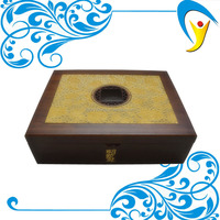 Hot sale antique wood box vintage storage box wood craft gift box supplier