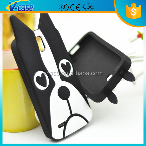 Silicon Cartoon phone case for mobile phone accessory, Cute case for lg g3