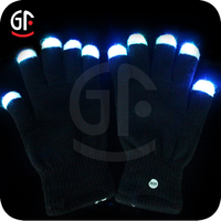 2016 Party Decoration Brand New Led Lighting Glowing Gloves