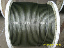 34*7--16MM steel wire rope for crane