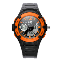 Original Branded Men's Digital Watch High Quality Silicone Jelly Wristband Young Boys Watch