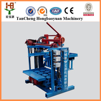 Smallest investment !!!QMJ4-40 Concrete Block Production Line Brick Making Machine for sale