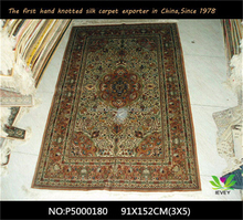 2015 classic designs collection silk area rugs from China factory wholesale prices modern persian carpets