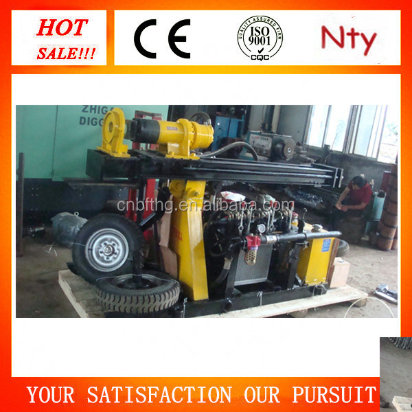 Strong drill machine for sale! FY130 down the hole hammer used truck mounted water well drilling rig