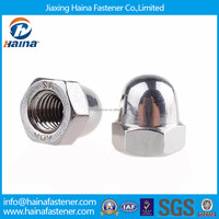 Stainless steel high crown acorn nut M6 M8 M10