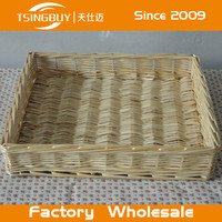 Natural color handmade cheap wicker basket for sale/mini picnic basket