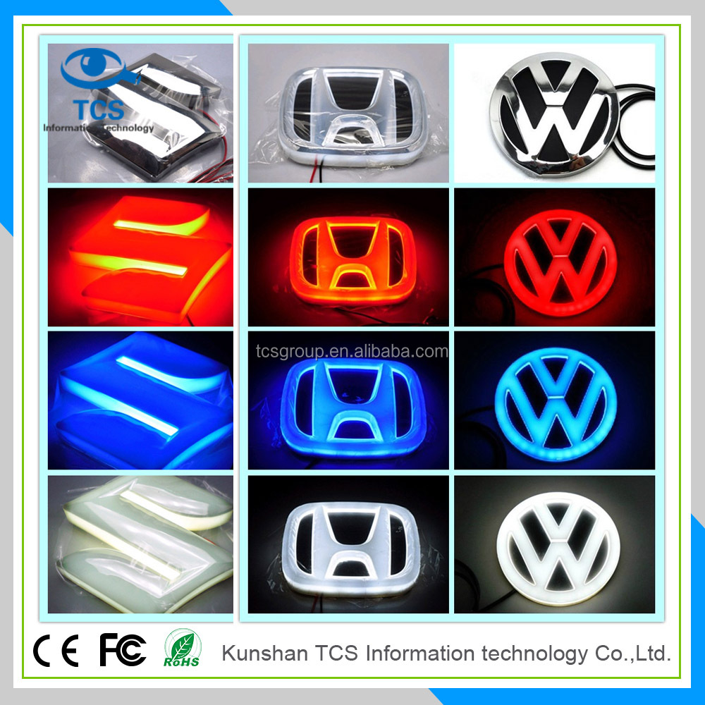 High brightness led car emblem,4D car logo light