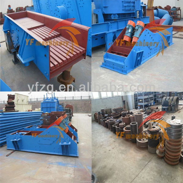India 50 ton per hour capacity Grizzly Vibrating Feeder Machine